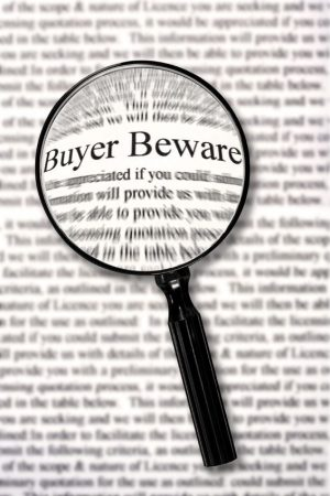 Image for Let the buyer beware