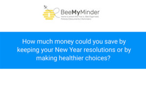Image for How much could your New Year resolutions save you – infographic