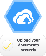 Upload your documents securely